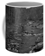 Country Stream Bw Coffee Mug