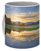 Country Sunset Reflection Coffee Mug