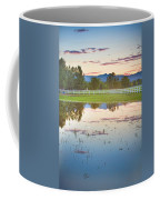 Country Sunset Reflections Coffee Mug