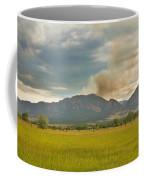 Country View Of The Flagstaff Fire Coffee Mug