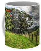 Countryside With Old Fig Tree Coffee Mug by Kaye Menner