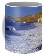 County Antrim, Ireland Seascape With Coffee Mug