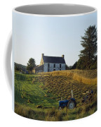 County Cork, Ireland Farmer On Tractor Coffee Mug