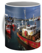 County Waterford, Ireland Fishing Boats Coffee Mug