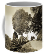 Couple On The Bench In Venice Coffee Mug by Madeline Ellis