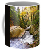 Courthouse River In The Fall 2 Coffee Mug