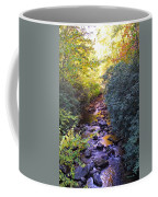 Courthouse River In The Fall 3 Coffee Mug