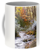 Courthouse River In The Fall Coffee Mug