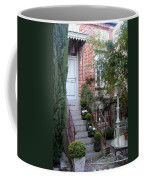 Courtyard In Honfleur Coffee Mug