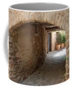 Courtyard In The Village Coffee Mug