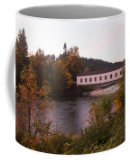 Covered Bridge At Dawn No. 1 Coffee Mug