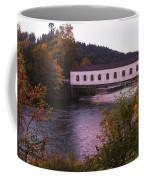 Covered Bridge At Dawn No. 2 Coffee Mug
