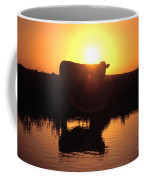 Cow At Sundown Coffee Mug by Picture Partners and Photo Researchers