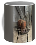 Cowboy Boots With Spurs Coffee Mug