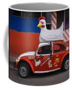 Cowboy Chicken Coffee Mug