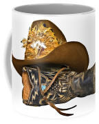 Cowboy Hat And Boot Coffee Mug
