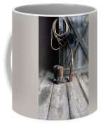 Cowboy Hat Boots Lasso And Rifle Coffee Mug