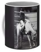 Cowboy Riding Bucking Horse  Coffee Mug by Garry Gay