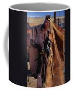 Cowboys Saddle And Chaps Detail Coffee Mug
