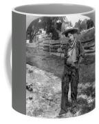 Cowgirl, C1906 Coffee Mug