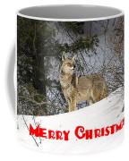 Coyote Christmas Coffee Mug