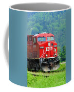 Cp Coal Train Coffee Mug