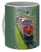 Cp Rail Engine Coffee Mug