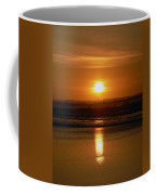 Crab Fishing The Sunset Coffee Mug