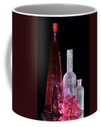 Cranberry And White Bottles Coffee Mug