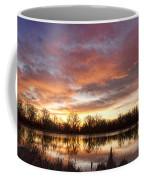 Crane Hollow Sunrise Reflections Coffee Mug