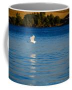 Crane In Flight Coffee Mug
