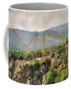 Crane On The Mountain Coffee Mug