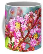 Crape Myrtle Blank Greeting Card Coffee Mug