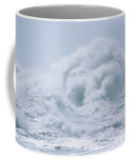 Crashing Backwash Waves At Cape Coffee Mug