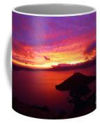 Crater Lake Fire In The Sky Coffee Mug