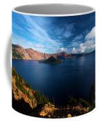 Crater Lake Minus Trees Coffee Mug