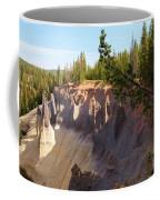 Crater Lake Pinnacles Coffee Mug
