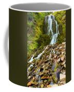 Crater Lake Waterfall Coffee Mug