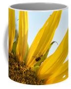 Crawling Along The Sunflower Coffee Mug