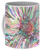Crazy Daisy Colored Pencil Photoart Coffee Mug