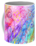 Crazy Flower Garden Coffee Mug