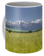Crazy Mountain Range Coffee Mug