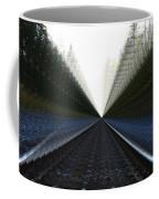 Crazy Tracks Coffee Mug