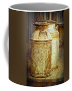 Creamery Cans In 1880 Town No 3098 Coffee Mug