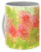 Creamsicle Hibiscus Coffee Mug