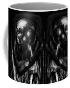 Black And White Mirror Coffee Mug