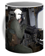 Crew Chief Fires An M2 .50-caliber Coffee Mug