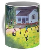 Cricket Coffee Mug by Andrew Macara
