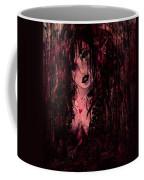 Crimson Torn Lace Coffee Mug