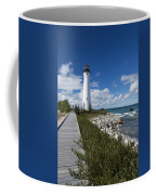 Crisp Point Lighthouse 10 Coffee Mug